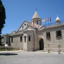 A sede do Patriarcado Armênio Católico é em Bzommar, Líbano