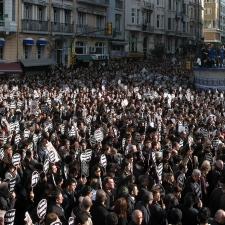 O jornalista armênio-turco Hrant Dink foi assassinado em 19 de janeiro de 2007